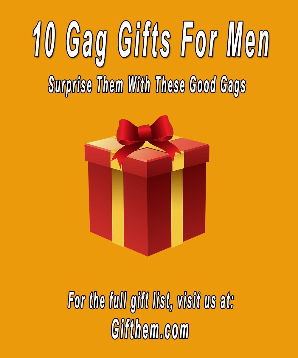 Gag Gifts for Men