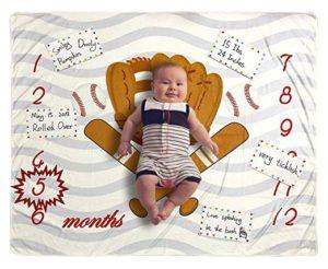 Baseball Baby Blanket Gift