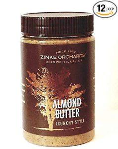 Crunchy Almond Butter For Diabetes