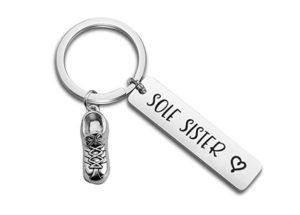 Keychain Gift Runner Girl