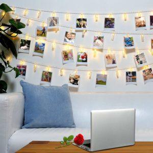 LED Photo Clips String Lights For Graduate Girls