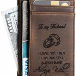 Men Slim Leather Wallet