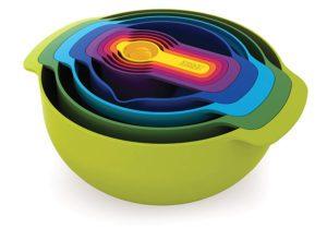 Nesting Bowls Set Gift For Baker