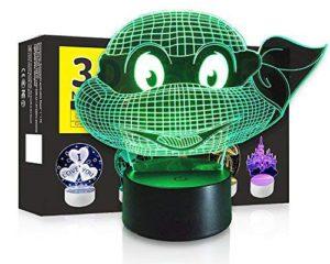 Ninja Turtles 3D LED Night Lamp