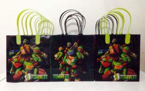 Ninja Turtles Goodie Small Gift Bags