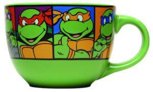 Ninja Turtles Grid Ceramic Soup Mug