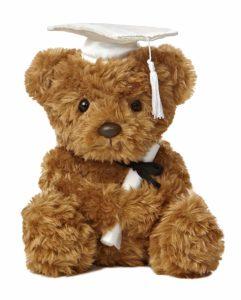 Plush Graduation Bear