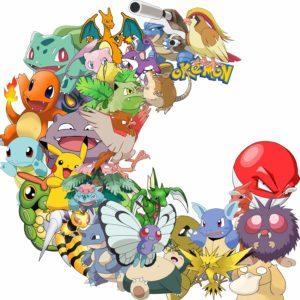 Pokemon Cartoon Stickers