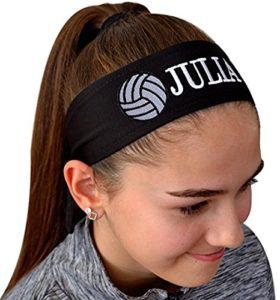 Volleyball TIE Back Moisture Wicking Headband