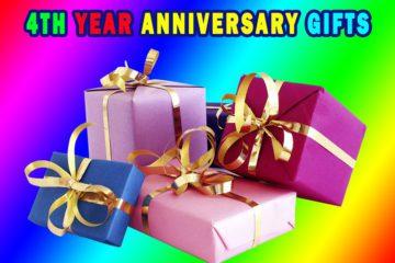 4 Year Anniversary Gifts