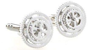 Bicycle Gears Cufflinks Gift