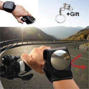 Bike Wrist Rear View Mirror Gift Set