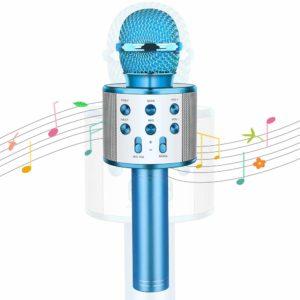 Wireless Bluetooth Karaoke Microphone For Kids