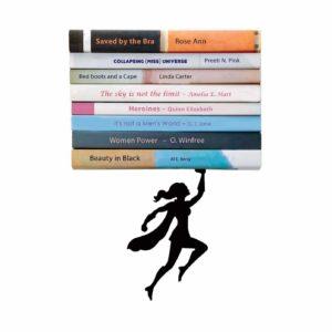 Wonderwoman Floating Bookshelf Gift