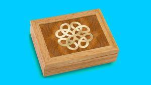 Wood Jewelry Box - 5th anniversary gifts