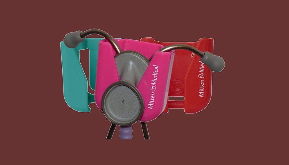 Stethoscope Holders With Scrub Lock