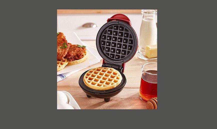 Mini Waffle Maker - 7 Year Anniversary Gifts