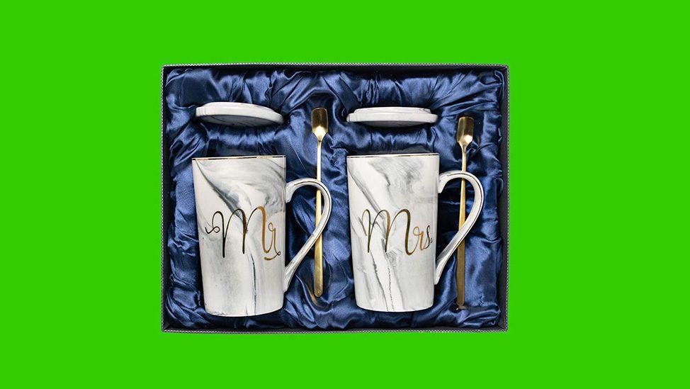 Mr and Mrs Coffee Mug Set