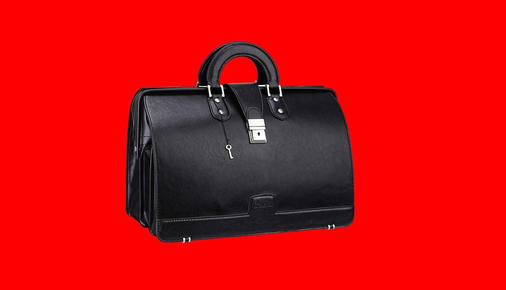 PU Leather Medical Bag