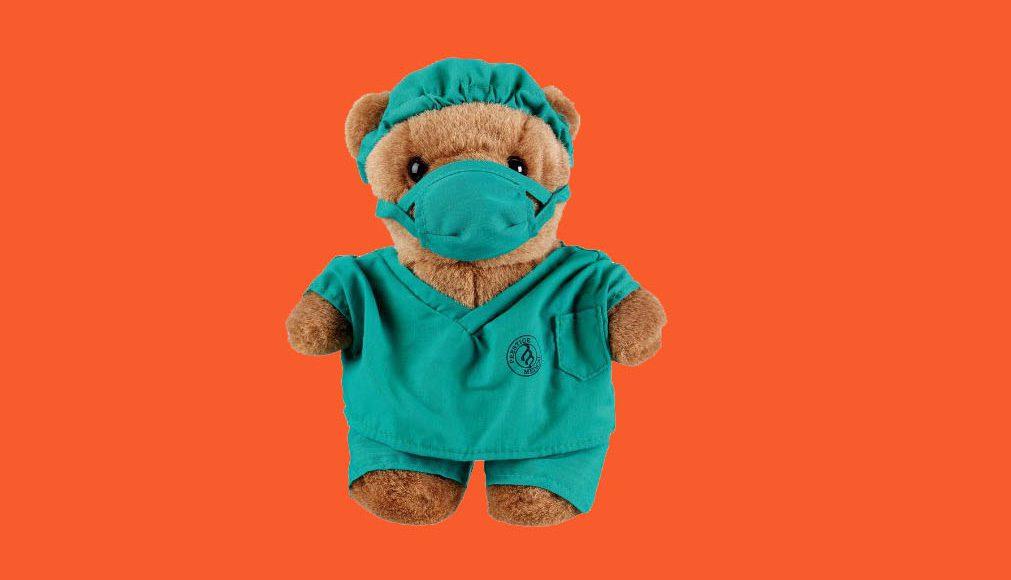 Prestige Dr. Scrubz Bear - Gifts For Doctors