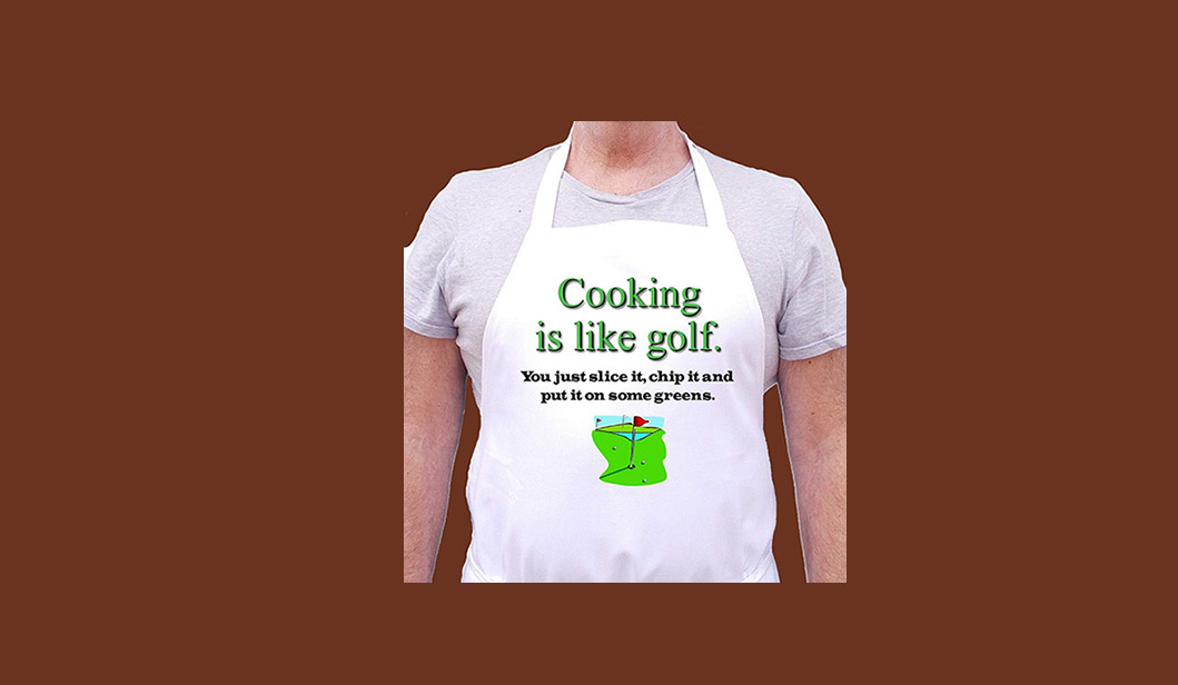 Funny Apron For Golfers