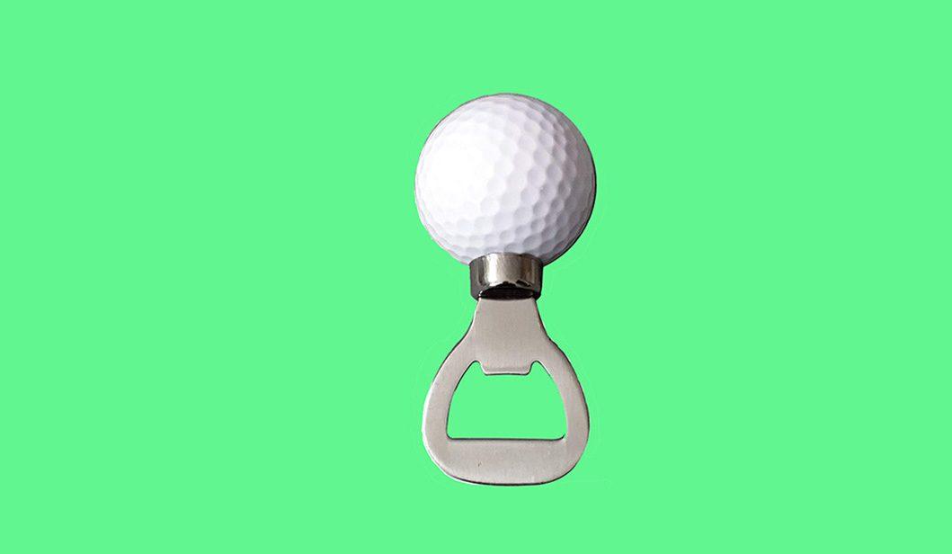 Golf Ball Bottle Opener