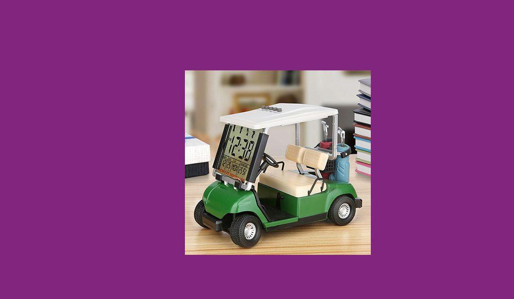Mini Golf Cart Clock