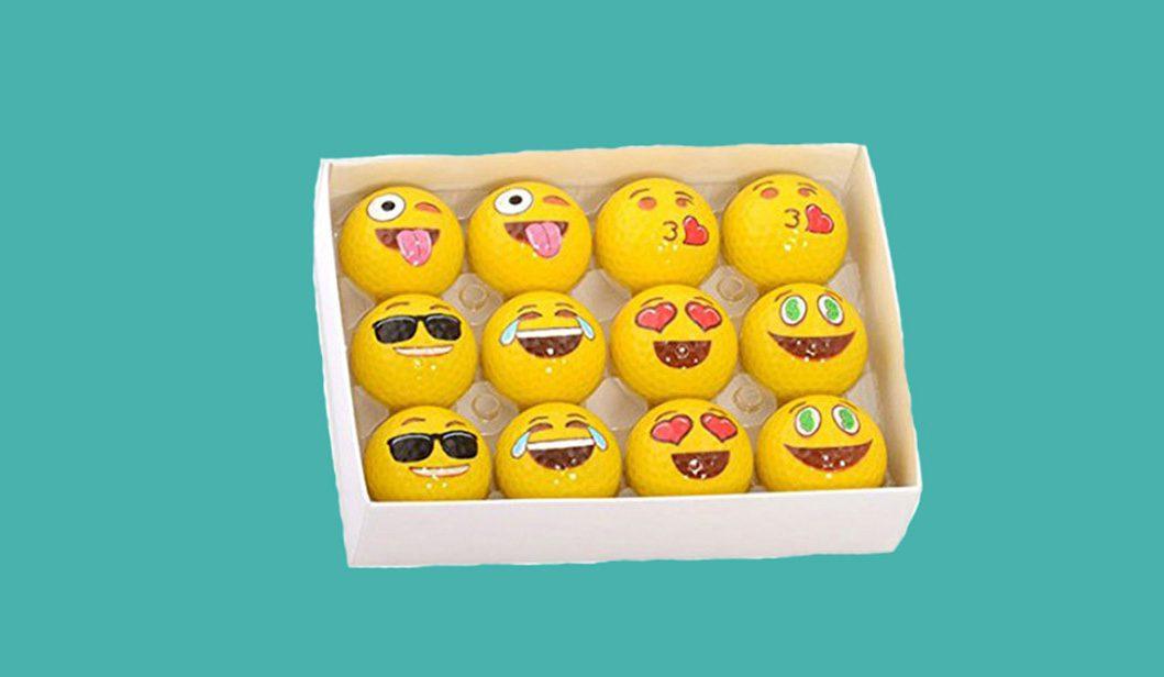 Emoji Style Golf Balls