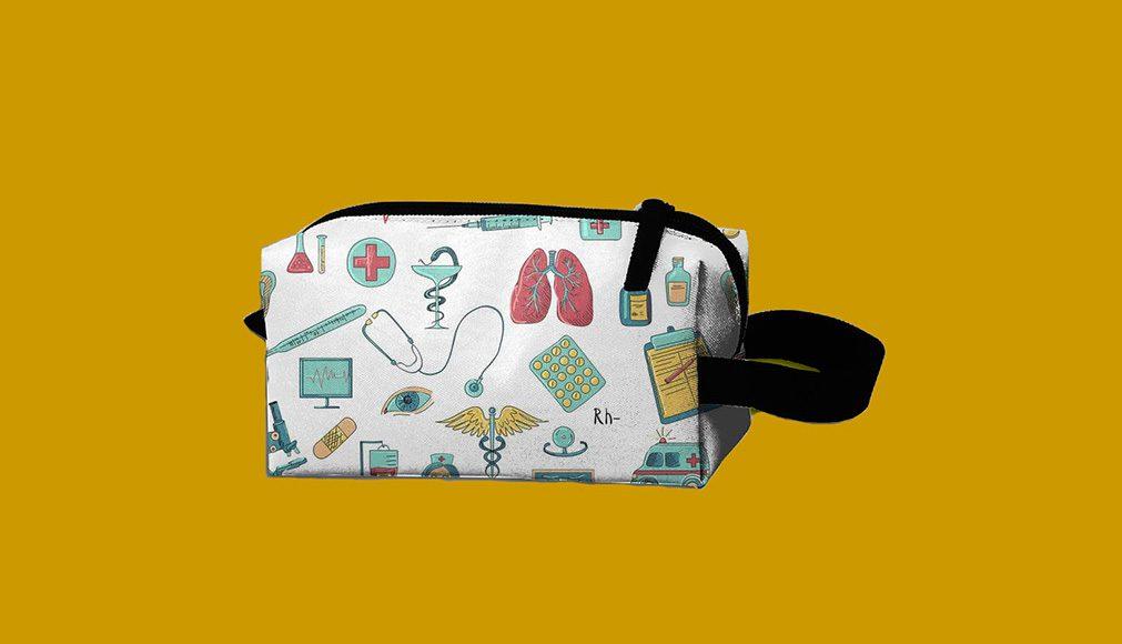 Medical Nurse Makeup Bag