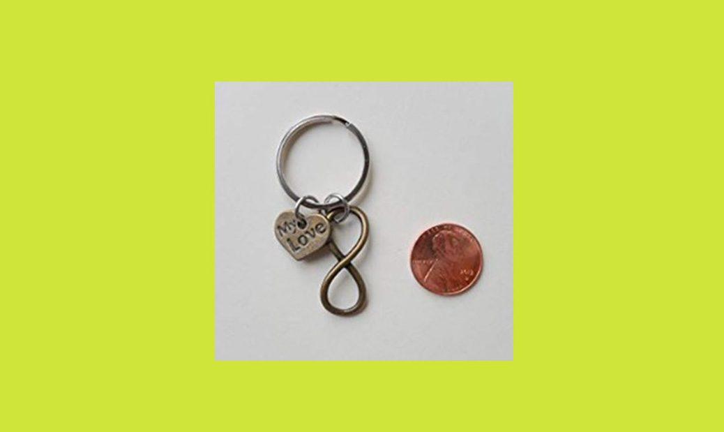 Love Infinity Symbol Keychain