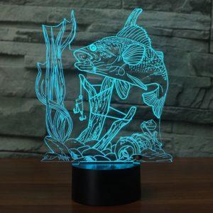 3D Fishing Lamp