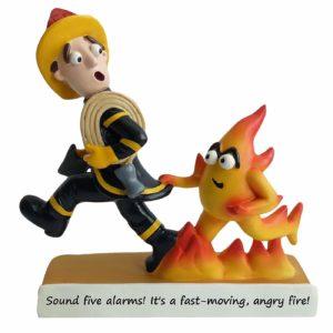 Firefighter Sculpture