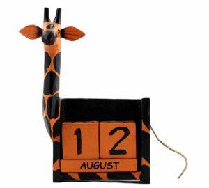 Giraffe Perpetual Calendar