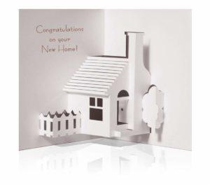 Pop up House Congratulations Card