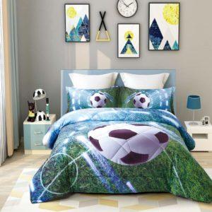 3D Soccer Comforter Set