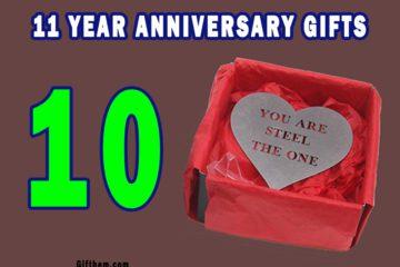 11 Year Anniversary Gifts