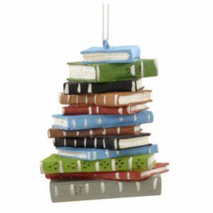 Book Stack Ornament