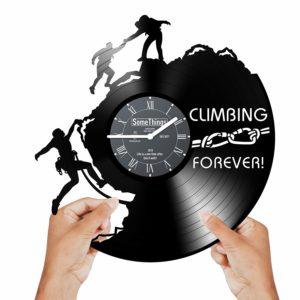 Climbing Clock Wall