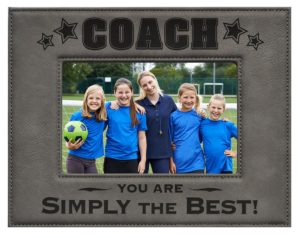Coach Picture Frame
