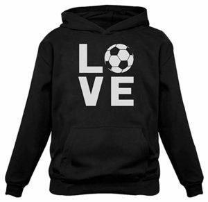I Love Soccer Hoodie