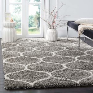 Moroccan Ogee Plush Area Rug - Gifts For New Homeowners