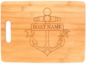 Nautical Boat Chopping Board