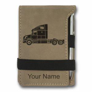 Truck Driver Mini Notepad