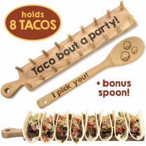 Wooden Taco Holder