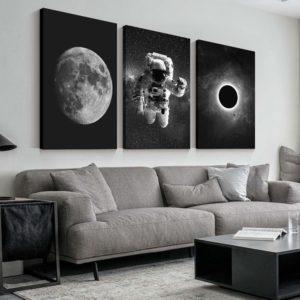 Astronaut Canvas Wall Art