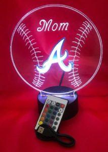 Baseball LED Lamp