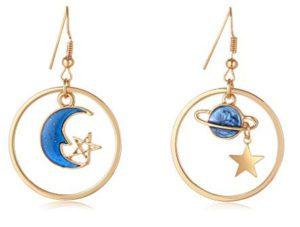 Earth Planet Earrings