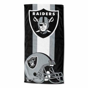 NFL Beach Towel - Oakland Raider Gifts