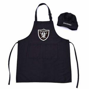 Oakland Raiders Apron Set