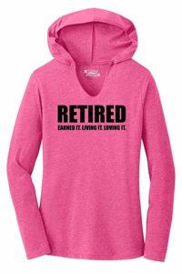 Retired Ladies Shirt - Retirement Gift Ideas For Mom